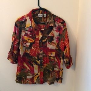 Chico's button down blouse